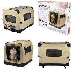 Petnation Port-A-Crate Large Dog Kennels Indoor/Outdoor Pen