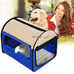 Portable Dog Crate Soft Travel Kennel Carrier Pet Cage 24 to