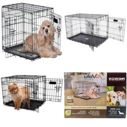 Precision Pet Petmate ProValu Two Door Wire Dog Crate Lock S