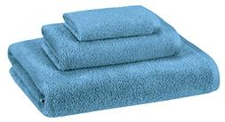 AmazonBasics Quick-Dry Towels - 100% Cotton, 3-Piece Set, La
