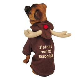 "Casual Canine Reindeer Hoodie for Dogs, 24"" XL, Brown"
