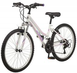 Roadmaster Granite Peak Girls Mountain Bike, 24-inch wheels