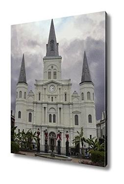 Ashley Canvas Saint Louis Cathedral In French Quarter Of New