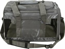 Sherpa's PET CARRIER Collapsible MED. Gray Soft Side Cat Dog