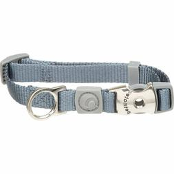 Petmate Signature Deluxe Collar, Pewter, 1 x 18-26""