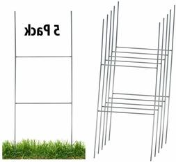 sturdy metal h frame wire step stakes