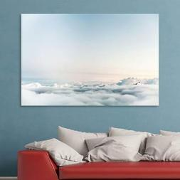 Wall26- Thick Clouds Above the Mountains Gallery - Canvas Wa