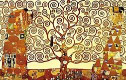 Wieco Art Tree of Life Large Canvas Prints Wall Art by 36x24
