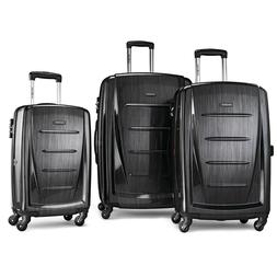 Samsonite Winfield 2 3PC Hardside  Luggage Set, Brushed Anth